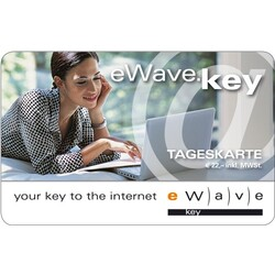 eWave.key WLAN-Internetwertkarte