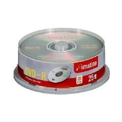 Imation DVD-R, 25 Spindel