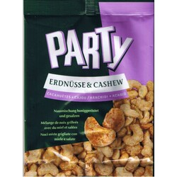 PARTY Erdnüsse & Cashew