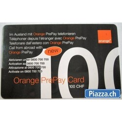 Orange PrePay Card