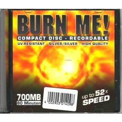 Burn Me! Compact Disk Recordable