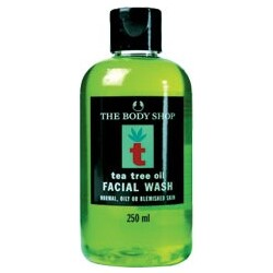 Body Shop - Tea Tree Oil Facial Wash