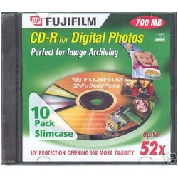 FUJI FILM CD-R für Digital Photos