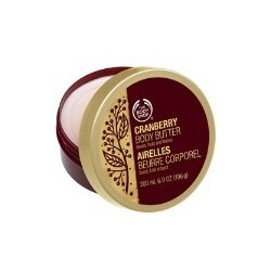 Body Shop - Body Butter Cranberry