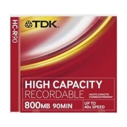 TDK HC-R90 HIGH CAPACITY RECORDABLE