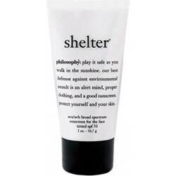 shelter philosophy tinted broad spectrum spf 30