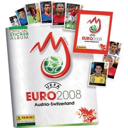 Offical Sticker Album Euro 2008