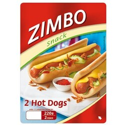 Zimbo Snack 2 Hot Dogs