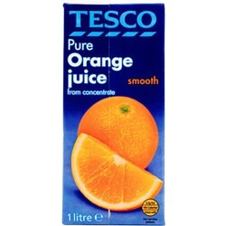 Tesco Pure Orange Juice smooth