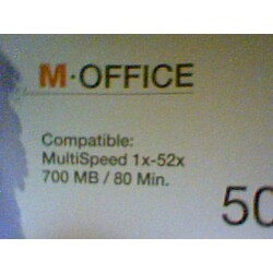 M-Office CD-R 52x