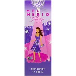 Mel Merio Famous Girl Body Lotion