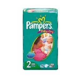 Pampers - Baby-Dry Mini 3-6 kg