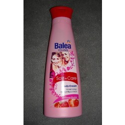Balea - Young Soft + Care Body-Cream Erdbeer-Shake