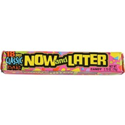 Now and Later Candies
