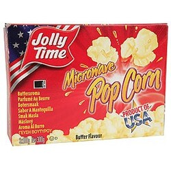 Jolly Time Microwave Popcorn Butter