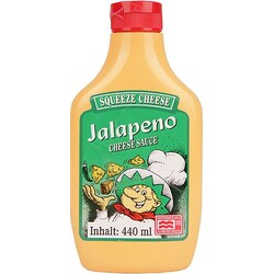 Squeeze Cheese Jalapeno Cheesesauce