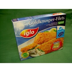 Iglo - Goldknusper-Filets Spinat