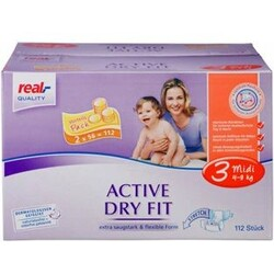 Real Quality - Active Dry Fit Midi 4-9 kg