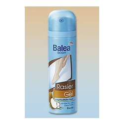 Balea Rasier Gel Cocos