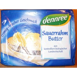 dennree Sauerrahm Butter