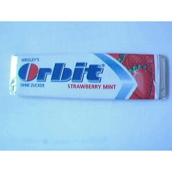 Orbit Strawberry Mint