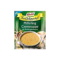 Knorr Pfifferlingcreme Suppe