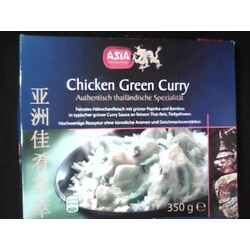 ASIA Spezialitäten ( = ALDI-Marke ) Chicken Green Curry