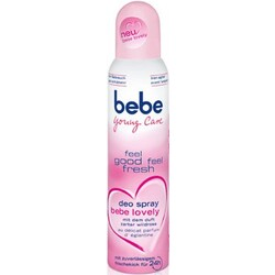 bebe deo spray be lovely