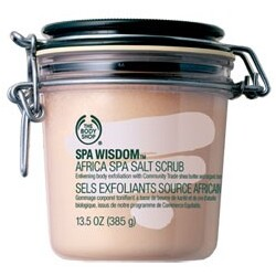 Body Shop - Spa Wisdom Africa Spa Salt Scrub Mini