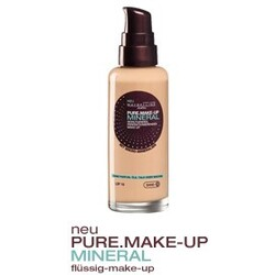 pure,make-up mineral