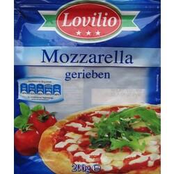Mozzarella Gerieben