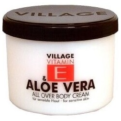 Village Cosmetics  Bodycreame Vitamin E Aloe Vera