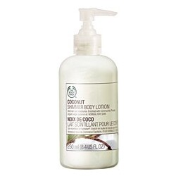 Body Shop - Coconut Shimmer Body Lotion