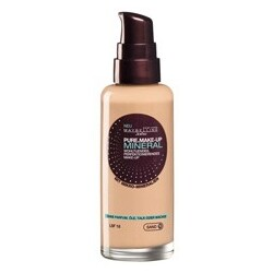 maybelline pure make-up mineral fawn 40