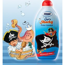 Fissan Kids Capt'n Sharky Piraten Schaumbad