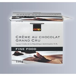 Coop Fine Food Crème au Chocolat Grand Cru