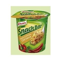 Knorr Snack Bar - Nudeln in cremiger Chili Sauce