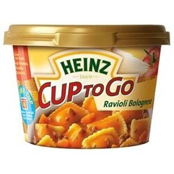 Heinz Cup to Go - Ravioli Bolognese