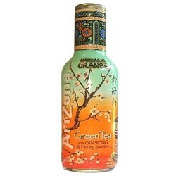 AriZona Mandarin Orange Green Tea with Ginseng & Honey Jasmine
