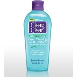 Clean & Clear Deep Cleaning Astringent for Sensitive Skin
