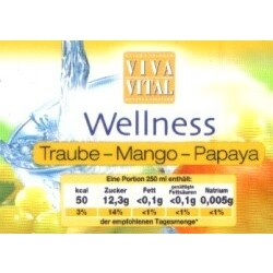 Viva Vital - Wellness Traube-Mango-Papaya