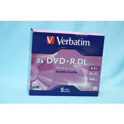 DVD+R DL Double Layer 8x