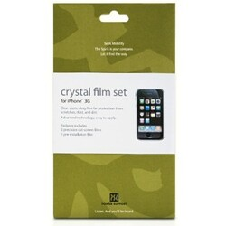 crystal film set for iPhone 3G/3GS