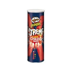 Pringles xtreme Flaming Chilli Sauce