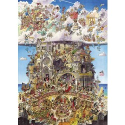 Hugo Prades Heaven and Hell - Puzzle Poster 1500