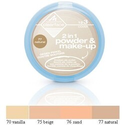 Manhattan Clearface 2 in 1 powder & make-up