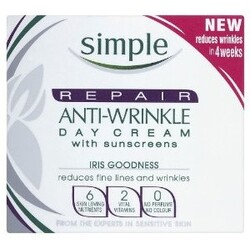 Simple Repair Anti-Wrinkle Day Cream - with sunscreens