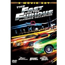 The Fast And The Furios 3 Movie Set