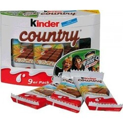 Kinder Country 9 Riegel pack