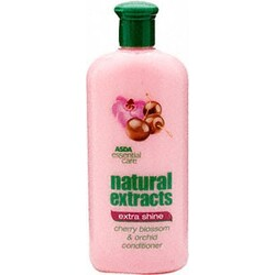 ASDA Natural extracts - extra shine - japanese cherry and orchid